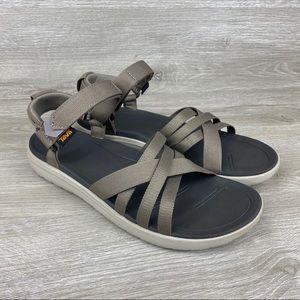 Teva Sanborn Womens Sandals Walnut 1015161 Size 11